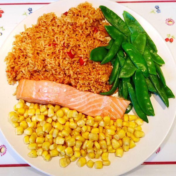 Dinner Healthy Food Salmon Clean Eating