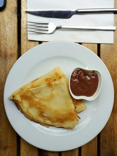 Crep Wrap Nutella Chocolate Food Sweet