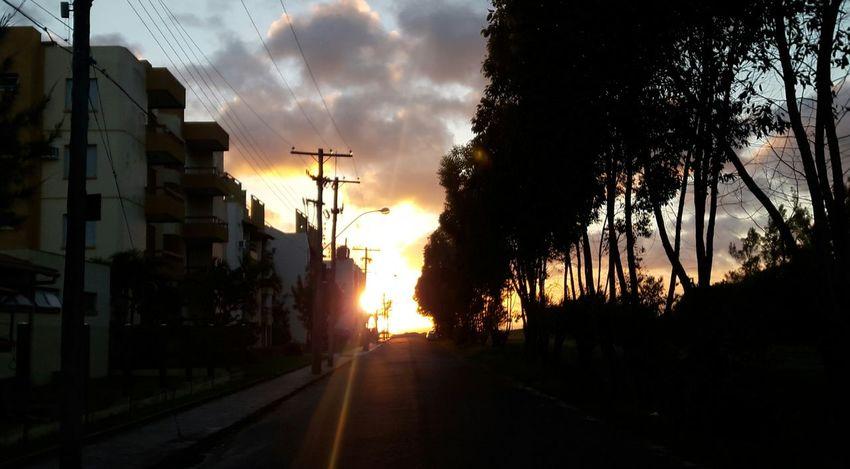 Sol Nascente às 6:45hrs!