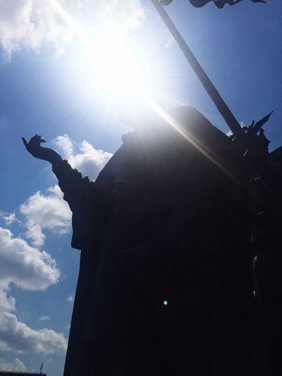 Sun Sunday Light Blue Sky Tulln Nibelungenbrunnen