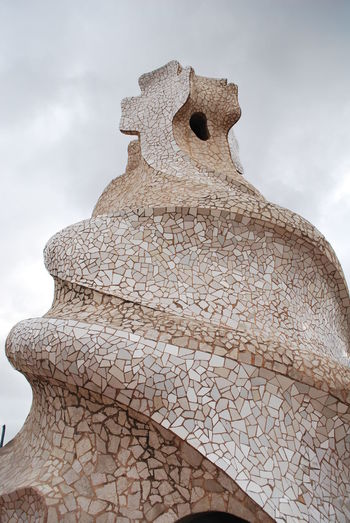 Archival Barcelona Barcelona, Spain Casa Mila ( La Pedrera ) Casa Milà Gaudì Day Gaudi No People Outdoors Representing Roof Rooftop Sky SPAIN Statue