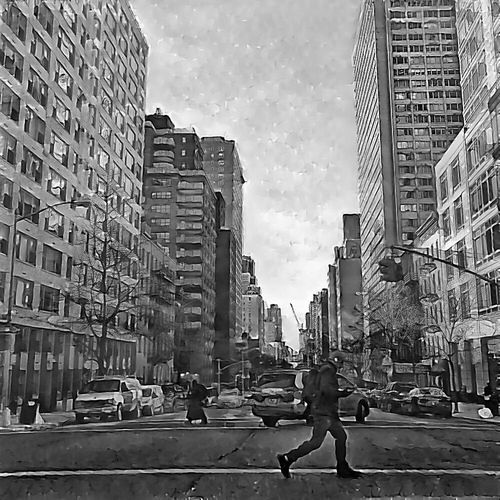 Somewhere in Manhattan, Stopped by the red light😊 Shot & Edited on iPhone 6 Plus www.eSantosStudios.com. Black&white Streetphoto_bw Bllackandwhite Black And White EyeEm Best Shots - Black + White Black And White Photography Blackandwhitephotography NEM Black&white Blackandwhite Photography Blackandwhite Black & White Blancoynegro Noir Et Blanc Blancinegre Mobile Photography Mobilephotography