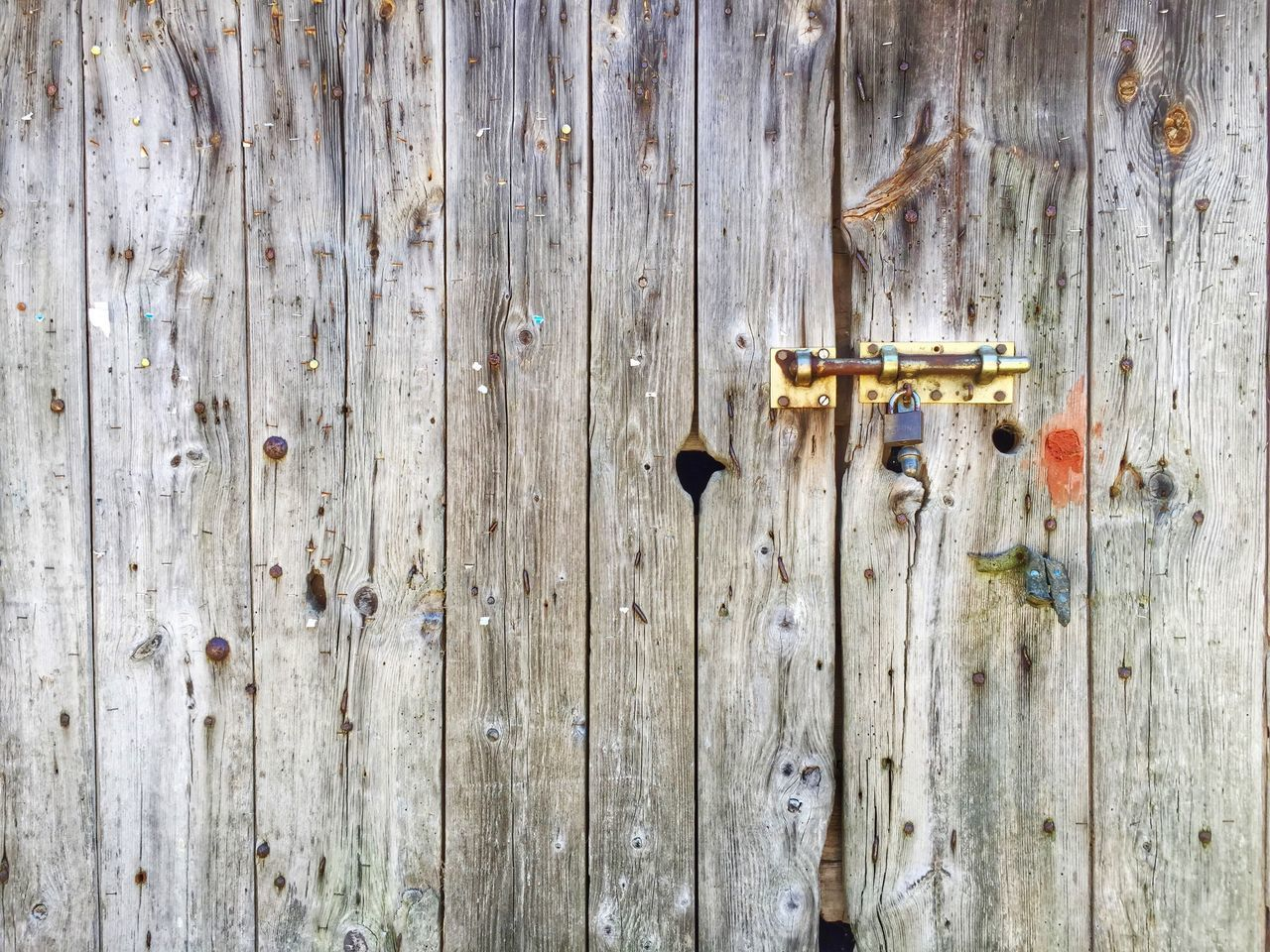 wood - material, door, outdoors, safety, textured, weathered, close-up, protection, day, no people, full frame, backgrounds, latch