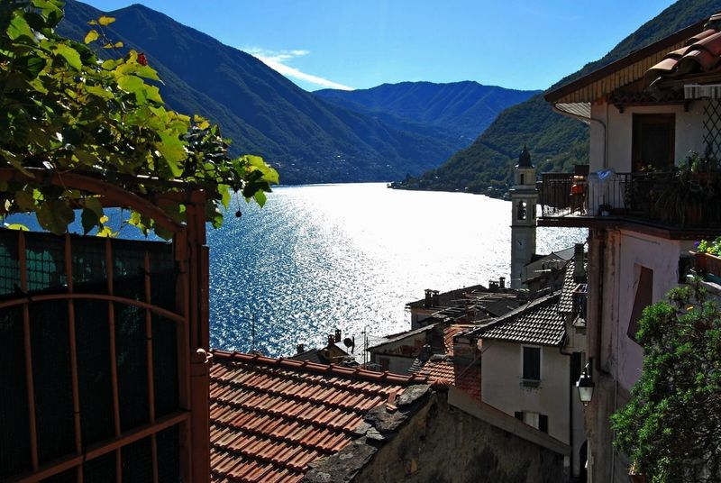 Como Lake Architecture Beauty In Nature Building Exterior Built Structure Day Lake Mountain Mountain Range Nature Nautical Vessel No People Outdoors Scenics Sky Tree Water