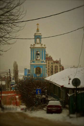 City Nature Photo Collection Russian Old Temples...
