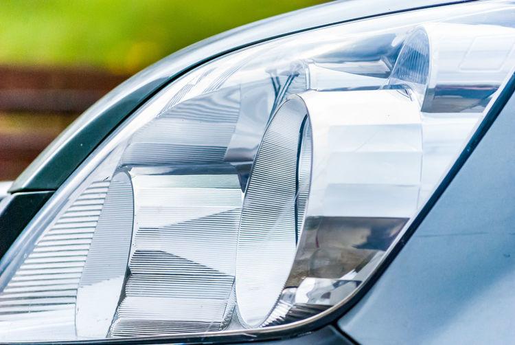 Car Cars Close-up Headlamp Honda Light Modern No People Outdoors