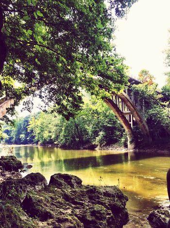 River Bridge Bridgeporn Nature Trees TurkeyRun Fine Art Photography