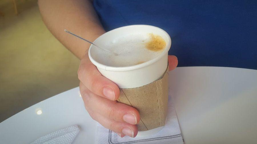 Bakery Cafe Cofee Coffe Coffee Time People Woman Hands Grabbing A Coffee Bar Food Photography Breakfast Human Hand