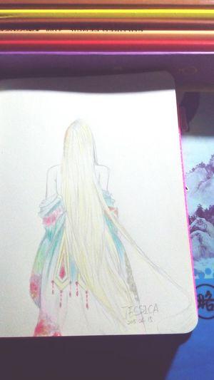 Art Art, Drawing, Creativity Beauty Drawing Hello ❤