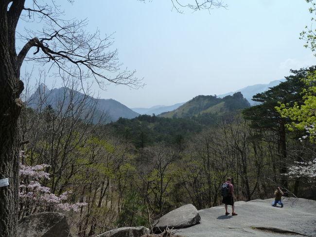 NatureReserve Sunny Beauty In Nature Day Landscape Leisure Activity Mountain Mountains Nature Outdoors Soraksan Southkorea Tree
