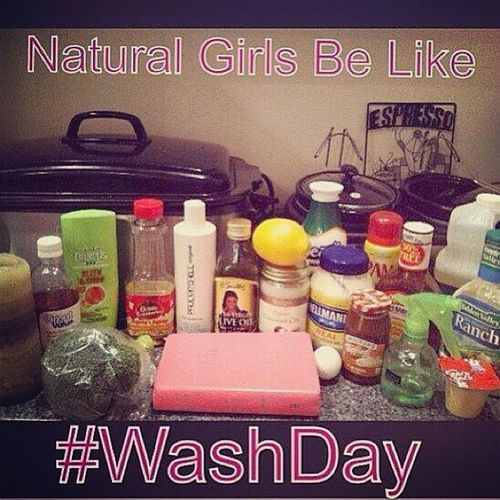 CTFU!!! I was tagged in this on Facebook and it was definitely justified. LLS...food/cooking items I've used in my hair: Extra Virgin Olive Oil, Eggs, Honey, Mayonnaise, Coconut Oil, Crisco and Apple Cider Vinegar. I do wanna try Avocado, Brown Sugar, Grape Seed Oil and Castor Oil. I'll admit that sometimes Teamnatural be Dointhemost ...
