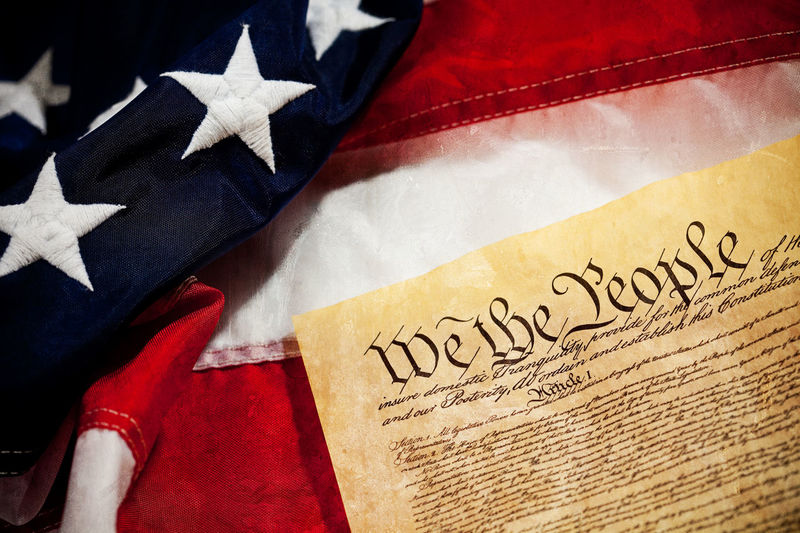 United States constitution against an American Flag America American Flag Constitution Flag Historical Patriotism United States United States Flag