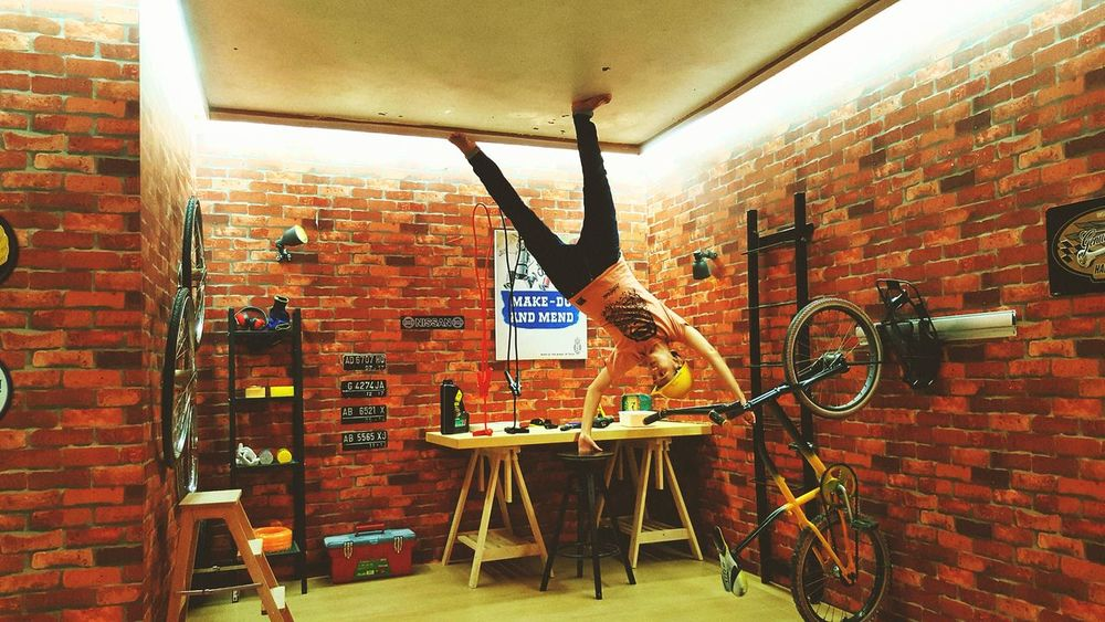 Live For The Story Jogjakarta Indonesia_photography Brick Wall Indoors  Bicycle No People Built Structure Day Architecture Jogjaistimewa Jogjatoday Jogjaart Travel Destinations JogjaParadise Visit Indonesia
