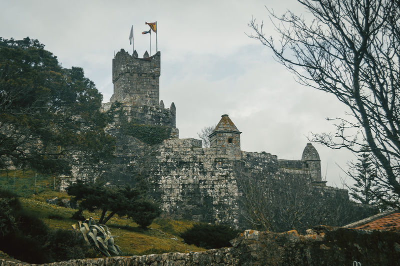 Baiona Castle Galicia Nature SPAIN Trip Winter Architecture Bare Tree Building Exterior Built Structure Castle Day Fortress Journey Low Angle View Medieval Medieval Architecture Nature No People Outdoors Place Of Worship Sky Travel Destinations Tree