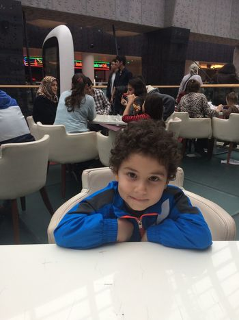 We are eating with my son Myson Eat Istanbul Forumistanbul Life Beef Hamburger Family Love
