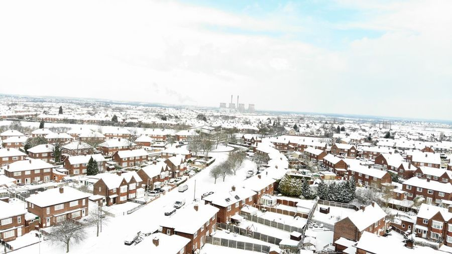 English new winter. ;) Like Look Snow ❄ Yorkshire Dji Drone  Dronephotography EyeEm Nature Lover Pontefract Westyorkshire