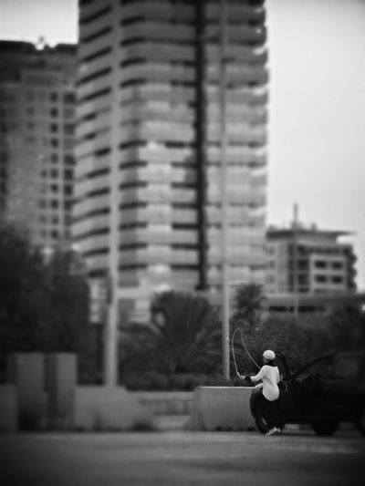 Skipping Monochrome Black And White Barcelona