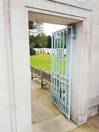 Architecture Built Structure Building Exterior Day No People Outdoors Sky Gate Cemetery Cwgc Brookwood Cemetery Breathing Space