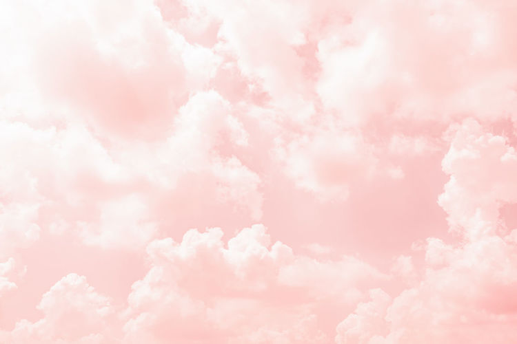 Abstract Abstract Backgrounds Backgrounds Beauty In Nature Bright Cloud - Sky Cloudscape Environment Fluffy Idyllic Layered Light - Natural Phenomenon Nature No People Outdoors Pastel Colored Pink Color Purple Scenics - Nature Sky Softness Tranquility Vibrant Color