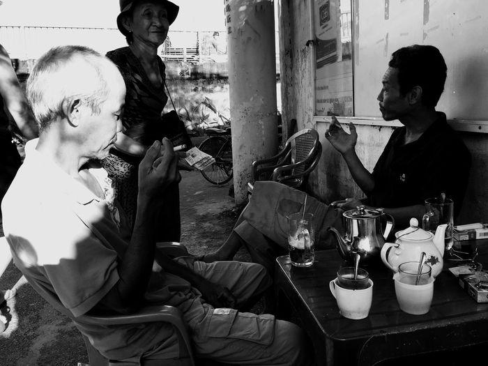Coffee in tiny Saigon Coffeeinvietnam Streetcoffee Coffeeinsaigon