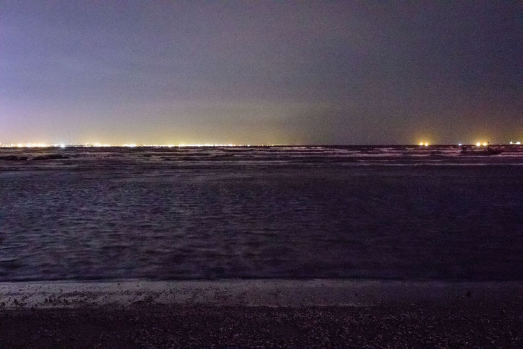 Beach Beauty In Nature Clear Sky Dusk Evening Horizon Over Water Idyllic Landscape Long Exposure Nature Night No People Outdoors Sand Scenics Sea Shore Shoreline Sky Sunset Tranquil Scene Tranquility Water Wave