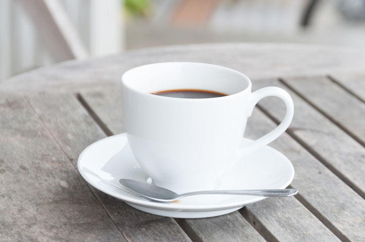 Beverage Black Coffee Close-up Coffee Coffee - Drink Coffee Cup Drink Food And Drink Freshness Non-alcoholic Beverage Refreshment Saucer Serving Size Still Life Table Wht
