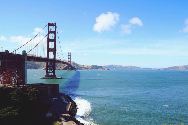 샌프란시스코 금문교 Sanfrancisco Golden Gate Bridge Bridge Sunny Day The Great Outdoors - 2017 EyeEm Awards