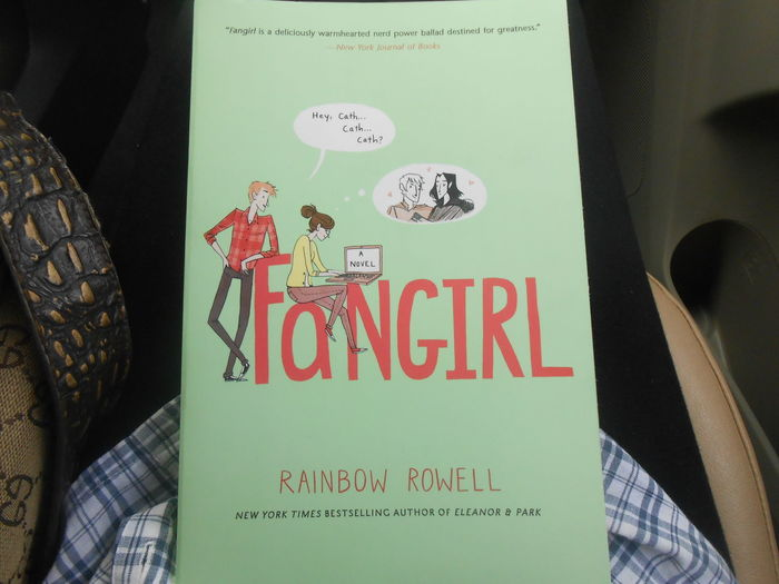Not done with this Fangirl Rainbow Rowell