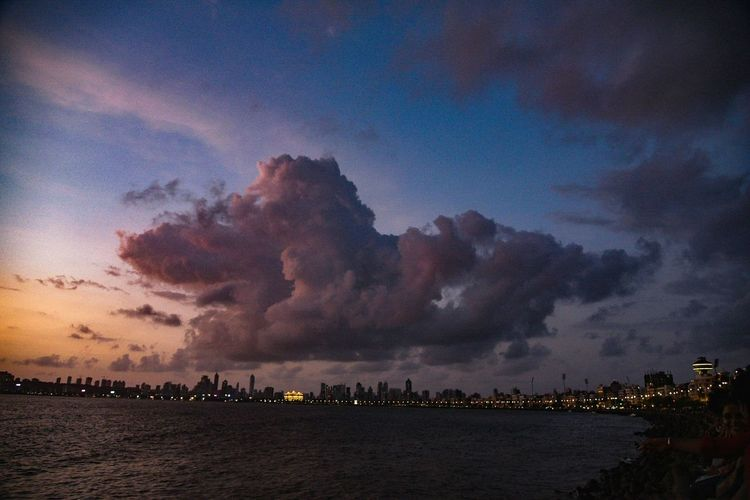 Mumbai Sunsets are the best in monsoons! Sunset Landscape Vacations Outdoors Travel Destinations Sea Water Scenics EyeEm Best Shots Travel Photography Outdoor Summer Nature Travel Urban Skyline Cityscape