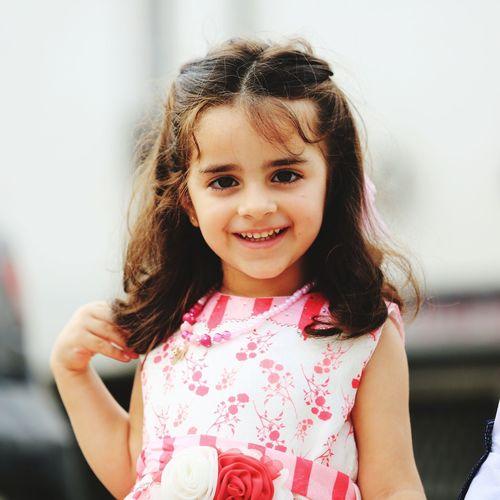 My little daughter
