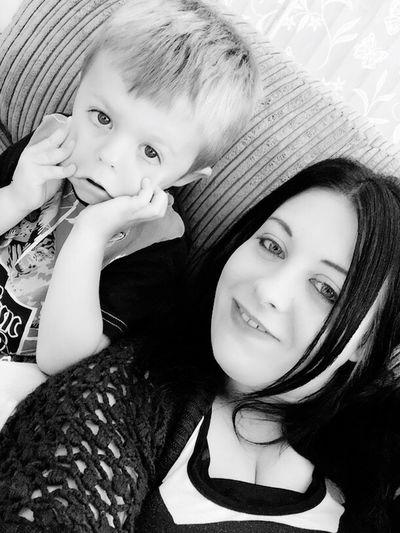 Selfie ✌ Mum And Son Taking Photos