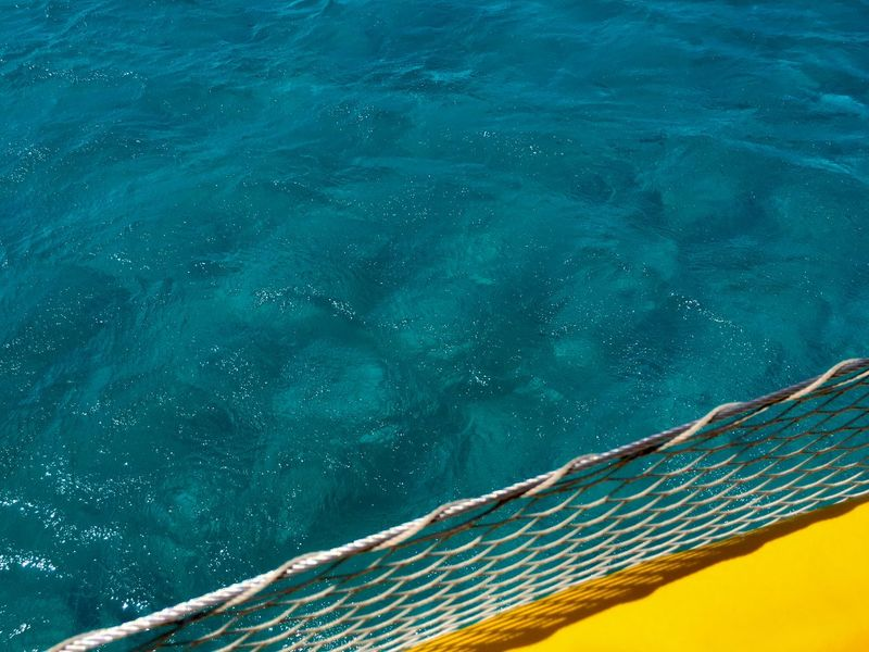 Color Block Abstract Backgrounds Blue Blue And Yellow Close-up Colorblocking High Angle View Minimalism Nature Net No People Outdoors Sea Simplicity Swimming Pool Water Yellow And Blue Paint The Town Yellow