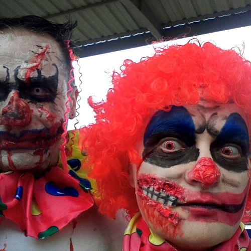 Makeup Pagliacci Clownkiller Clownzombie Clown Zombiewalkvenezia Zombiewalk  Zombiewalkvenice Zombie