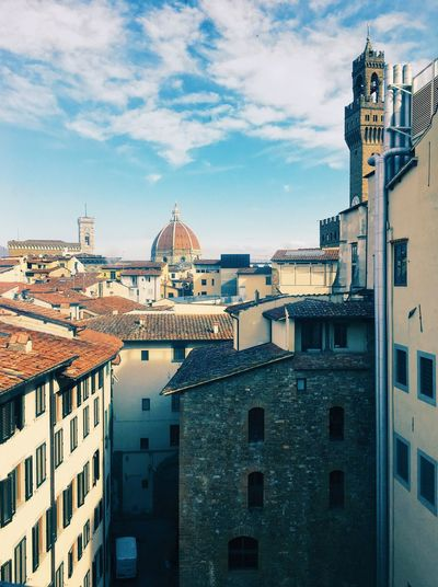 Florence Vscodaily VSCO Cam Cityscape Adventures In The City Architecture Santamariadelfiore cityscapes Florence Italy Piazza VSCO Vscocam Vscogood Building Exterior Architecture Built Structure Sky City Building Cloud - Sky Cityscape Travel Destinations Town High Angle View Residential District TOWNSCAPE Day Outdoors No People Nature