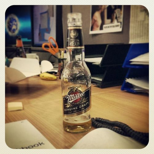 It's Millertime . Always wanted to say that