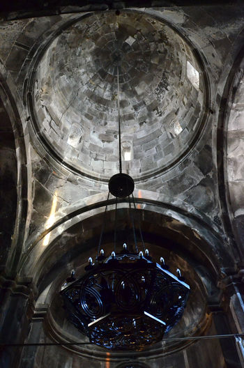 Armenia Geghard Geghard Monastery Architecture Ceiling Close-up Day Indoors  Low Angle View No People Oriental Orthodox Church Religion Travel Destinations W-armenien