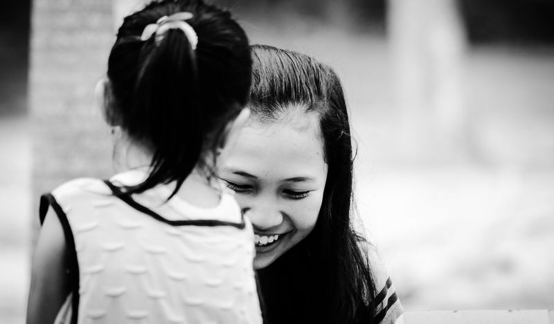 woman smile Only Women Headshot Day Young Women Close-up Beauty Woman Face Woman Outdoors Young Adult Black And White Bnw_collection Bnw_shot Bnw_indonesia Happy People Fresh On Eyeem  EyeEmNewHere WeekOnEyeEm
