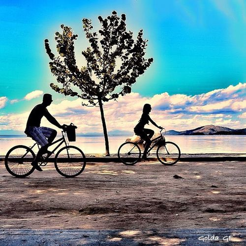 The Place I've Been Today ho Sports In The City Beachlife Biking Around Love Love Is In The Air Happy People Strolling Around