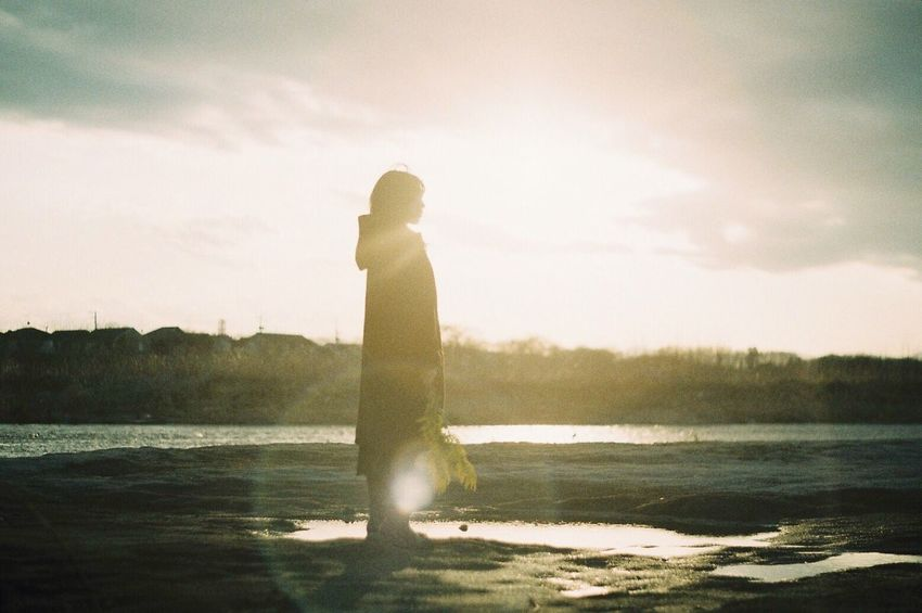 Film Filmcamera Film Photography Analog Camera Analogue Photography 35mm 35mm Film Filmisnotdead Pentax Pentax Super-a Fujifilm Nature Sunlight Sunset Sunset_collection Portrait Shillouette Lens Flare フィルム レンズフレア