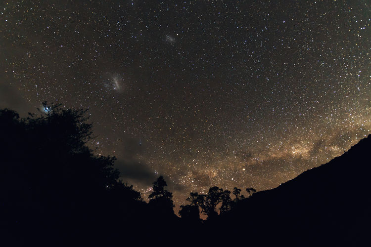 Astronomy Beauty In Nature Constellation Freshness Galaxy Low Angle View Milky Way National Park Nature Night No People Outdoors Scenics Silhouette Sky Space Space And Astronomy Space Exploration Star - Space Star Field Star Trail Tranquil Scene Tranquility Tree