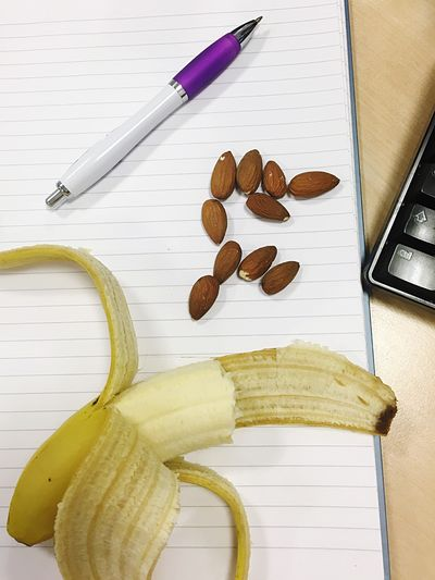 Working Breakfast Healthy Fruit Nuts Lifestyles Working My Favourite Breakfast Moment At Work Again Eat To Work
