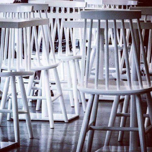 Architecture Concrete Furniture Design detail chair simple minimal white pixel office jadalnia