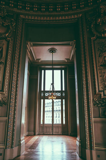 Architecture 43 Golden Moments Built Structure Closed Design Door Entrance Glass - Material Historic Fine Art Photography Indoors  No People Opera Bastille Opera House Opera National De Paris Operahouse Opéra Ornate Pattern Religion Spirituality Interior Views Window Ópera De Paris My Favorite Place