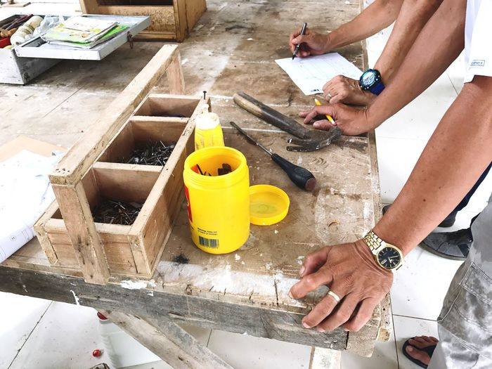 Deceptively Simple Lines And Shapes Construction Site Architecture Working Hands Hands At Work Workshop Craftsperson