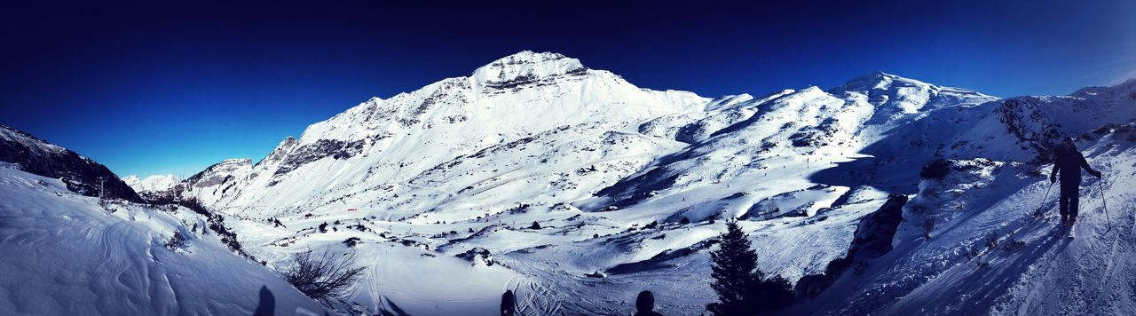 Ski Snow Winter Cold Temperature Mountain Weather Beauty In Nature Nature Snowcapped Mountain Tranquil Scene Scenics Tranquility Mountain Range White Color Majestic Frozen Blue Landscape Clear Sky Day Outdoors Avoriaz Second Acts