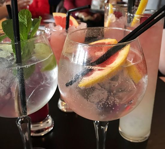 Time for cocktails 🍹 Drink Cocktail Drinking Glass Alcohol Close-up Food And Drink Girls Day Out! Out With Friends