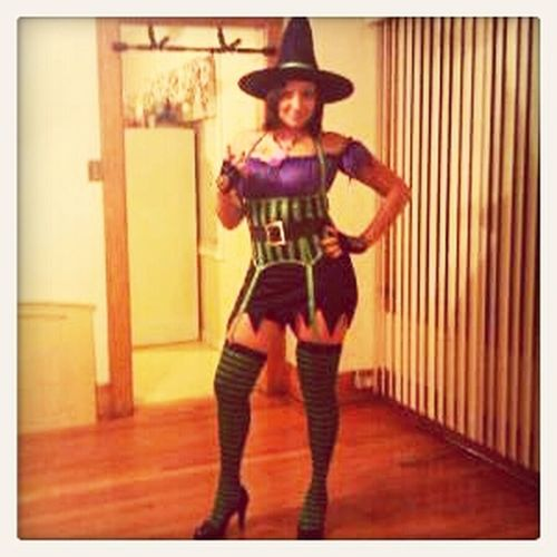 Me On Halloween :)