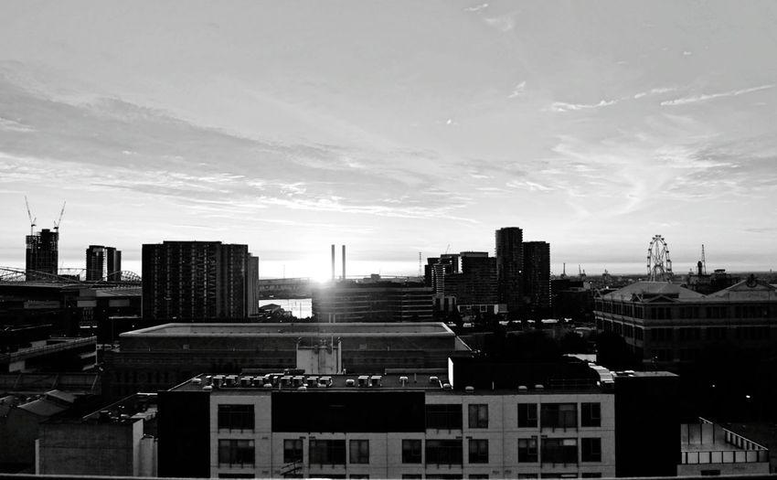 /Melbourne/ Urban Skyline Melbourne City MelbournePhotographer Melbourneiloveyou Melbournecbd Melbournephotos Australia Blackandwhite City View  Vibes Skyline What A View EyeEm City Shots Bw_collection BW_photography
