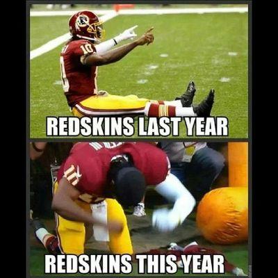 LOL, silly Skins... Skins SkinsSuck RGknee HowBoutThemCowboys !!!