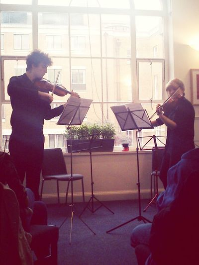 A little string instrument music with your Saturday.